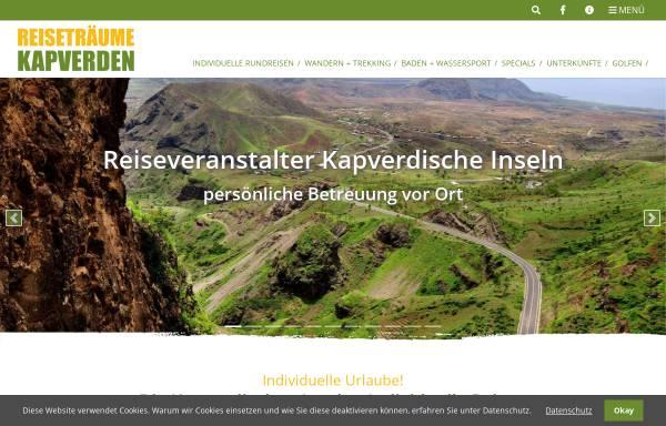 Vorschau von www.reisetraeume.de, Reiseträume Kapverden