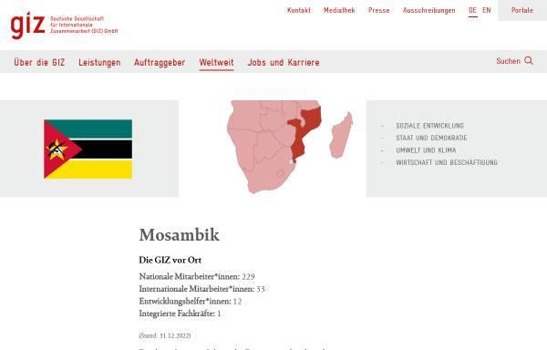 Vorschau von www.giz.de, Deutsche Gesellschaft für Internationale Zusammenarbeit