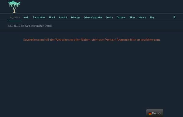 Vorschau von www.seychellen.com, Seychellen.com