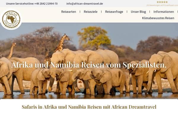 Vorschau von www.african-dreamtravel.de, African Dreamtravel