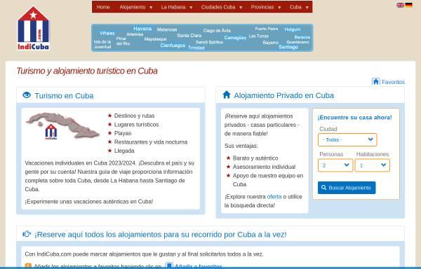 Vorschau von indicuba.com, IndiCuba.com