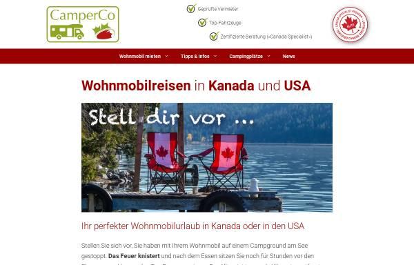 Vorschau von www.camperco.de, CamperCo