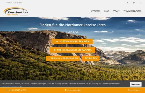 Vorschau von www.faszination-fernweh.de, Faszination Fernweh GmbH