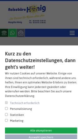 Vorschau der mobilen Webseite www.auszeitbuchen.de, Venezuelanature