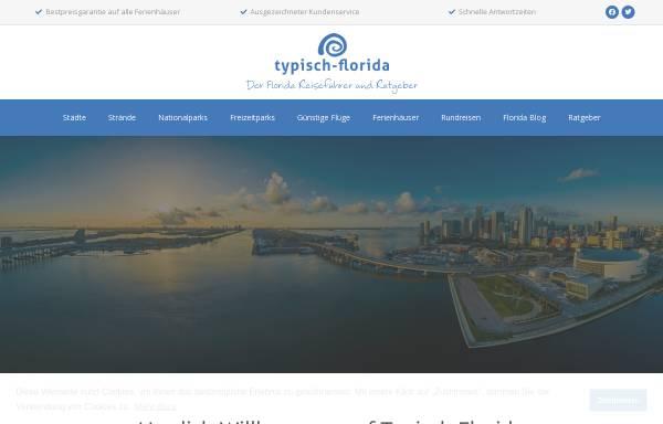 Vorschau von www.typisch-florida.de, Typisch Florida