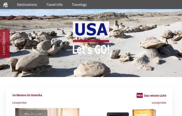 Vorschau von www.usaletsgo.de, USA Let's Go!
