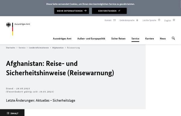 Vorschau von www.auswaertiges-amt.de, Auswärtiges Amt