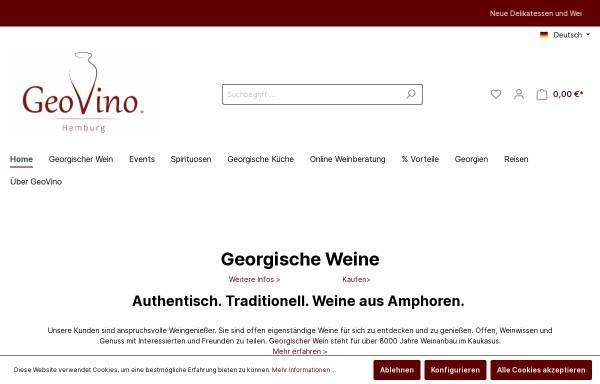 Vorschau von www.geovino.de, GeoVino