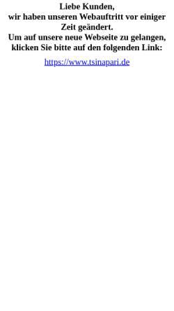 Vorschau der mobilen Webseite www.grusignac.de, Weinhaus Grusignac
