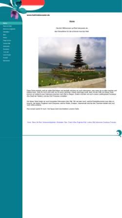 Vorschau der mobilen Webseite www.bali-indonesien.de, Bali-Indonesien.de