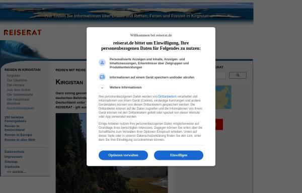 Vorschau von www.reiserat.de, Reise Rat