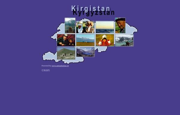 Vorschau von www.kirgistan-info.ch, Information Kirgistan