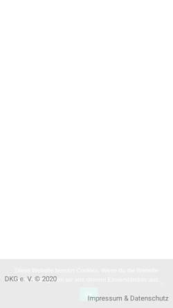 Vorschau der mobilen Webseite www.korea-dkg.de, Deutsch-Koreanische Gesellschaft e.V. Regionalverband Mitteldeutschland