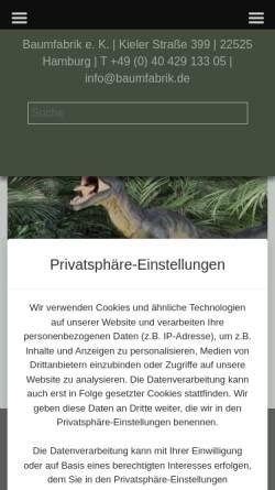 Vorschau der mobilen Webseite www.c-form.de, C-Form - Peter Wiedemann