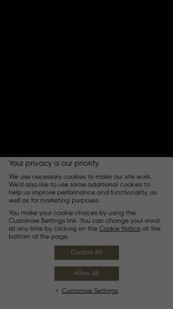 Vorschau der mobilen Webseite www.jumeirah.com, Burj Al Arab Jumeirah