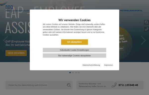 Vorschau von www.biwe-bbq.de, BBQ Berufliche Bildung gGmbH