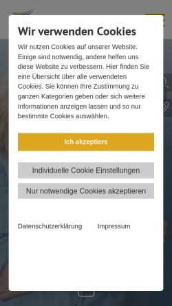 Vorschau der mobilen Webseite www.biwe-bbq.de, BBQ Berufliche Bildung gGmbH