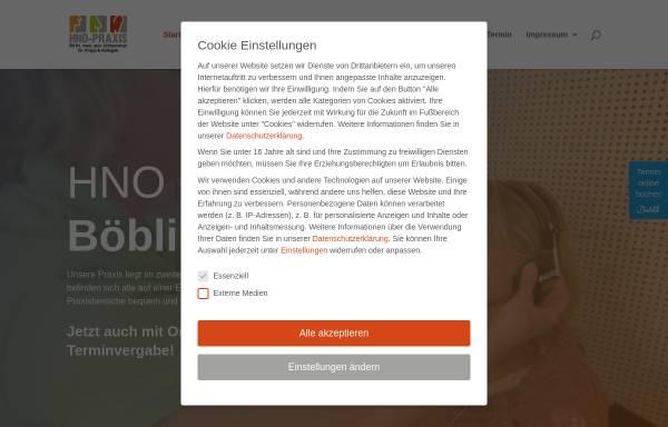 Vorschau von www.hno-boeblingen.de, Krapp, Jörg Dr.