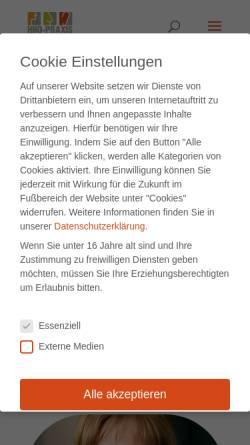 Vorschau der mobilen Webseite www.hno-boeblingen.de, Krapp, Jörg Dr.