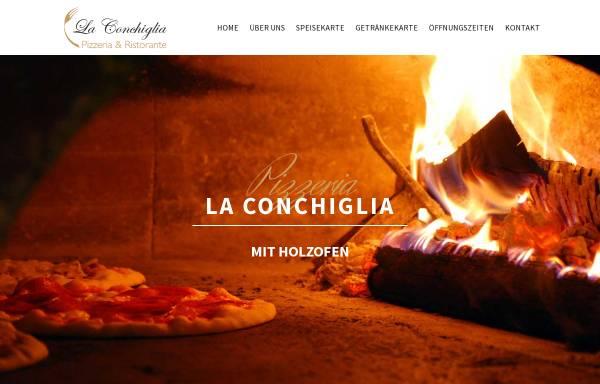 Vorschau von www.pizzeria-laconchiglia-esslingen.de, Pizzeria La Conchiglia