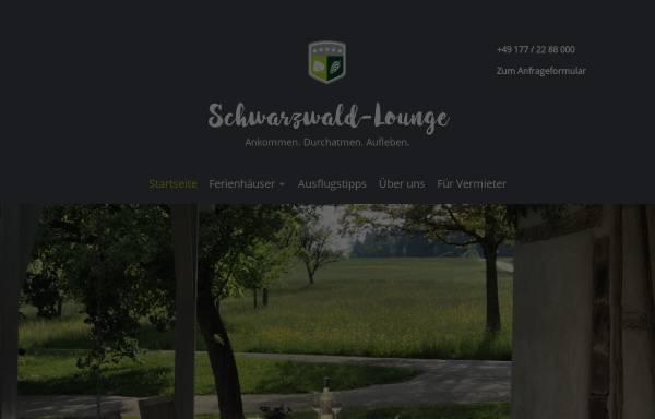Vorschau von www.schwarzwald-lounge.de, Schwarzwald-Lounge Ferienwohnung