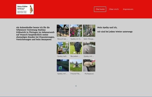 Vorschau von www.h-kuebler.de, Heinz Kübler