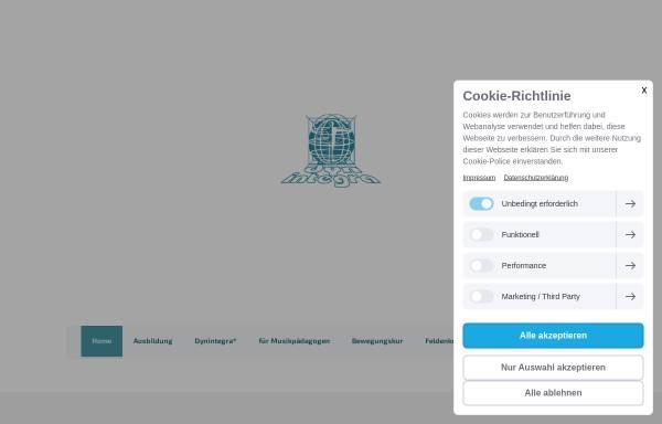 Vorschau von www.dynintegra.de, Allgäuer Institut für Feldenkrais u. DynIntegra - Grühling, Ruth und Heinz