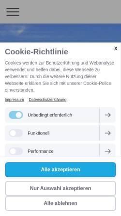 Vorschau der mobilen Webseite www.dynintegra.de, Allgäuer Institut für Feldenkrais u. DynIntegra - Grühling, Ruth und Heinz