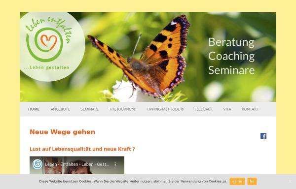 Vorschau von leben-entfalten-ettlingen.de, Leben entfalten, Leben gestalten