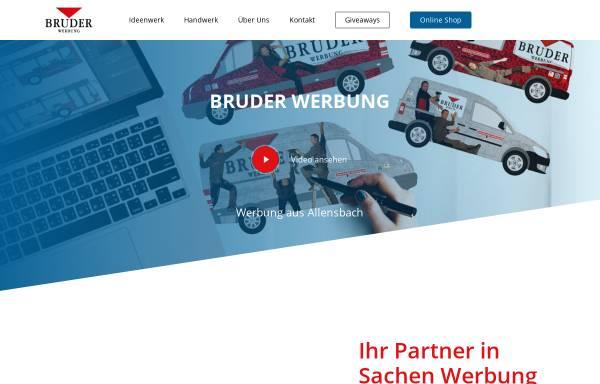 Vorschau von bruder-werbung.de, Bruder Werbung