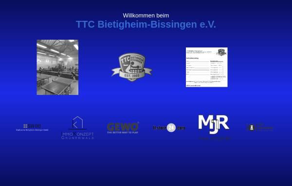 Vorschau von www.ttc-bietigheim-bissingen.de, TTC Bietigheim-Bissingen e.V.