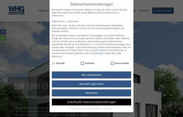 Vorschau von www.whg-immobilien.de, WHG Immobilien