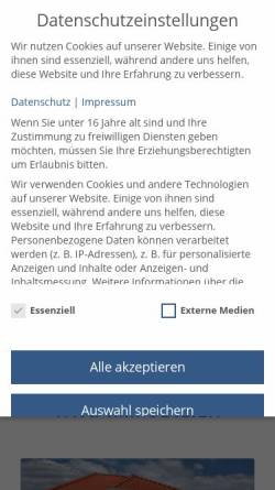 Vorschau der mobilen Webseite www.whg-immobilien.de, WHG Immobilien