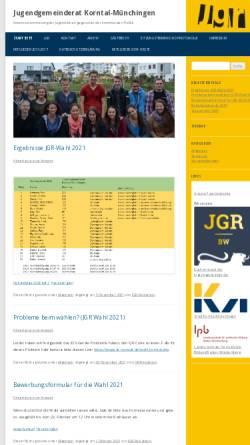 Vorschau der mobilen Webseite jgr-korntal-muenchingen.de, Jugendgemeinderat Korntal-Münchingen
