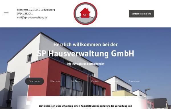 Vorschau von www.sphausverwaltung.de, SP Hausverwaltung GmbH