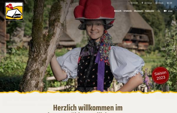 Vorschau von www.vogtsbauernhof.de, Schwarzwälder Freilichtmuseum Vogtsbauernhof