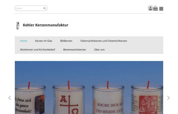 Kehler Kerzenmanufaktur, Stephan Deuchler: Wirtschaft, Kehl kerzen ...