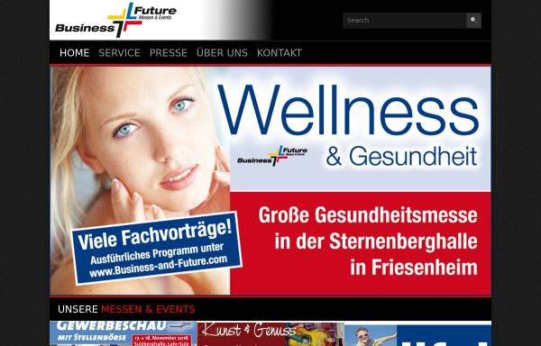 Vorschau von business-and-future.com, Business & Future Messen & Events