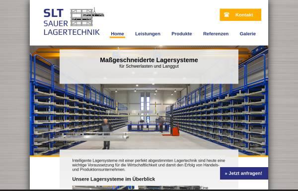 Vorschau von www.sauerlagertechnik.de, Sauer Lagertechnik GmbH