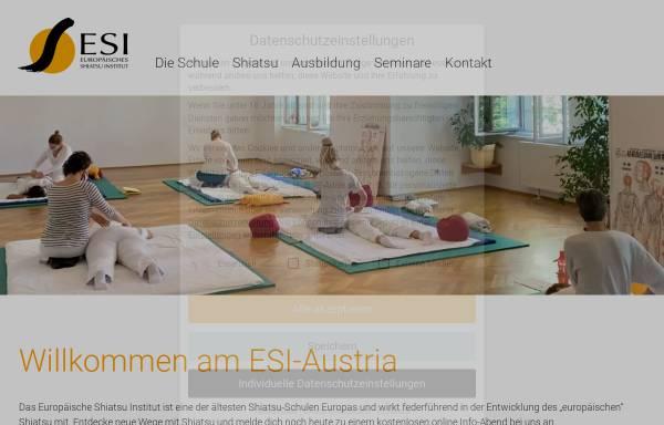 Vorschau von www.shiatsu-institut.at, ESI-Austria - Europäisches Shiatsu Institut