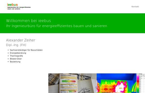 Vorschau von www.ieebus.de, Ieebus, Dipl. Ing. (FH) Alexander Zeiher