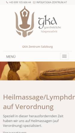 Vorschau der mobilen Webseite www.iokai-shiatsu-austria.at, Iokai Shiatsu Austria