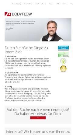 Vorschau der mobilen Webseite www.sr-bodyflow.de, Bodyflow