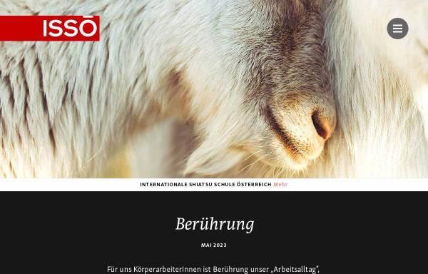 Vorschau von shiatsu.at, ISSÖ - Internationale Shiatsu Schule Österreich
