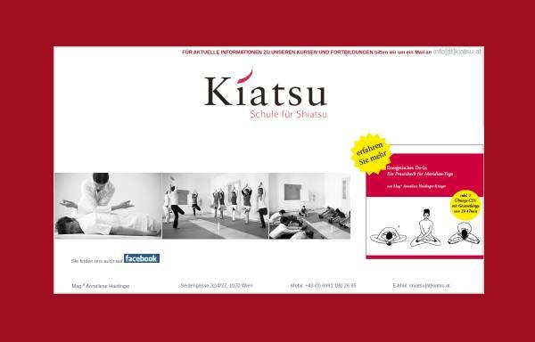 Vorschau von www.kiatsu.at, Kiatsu
