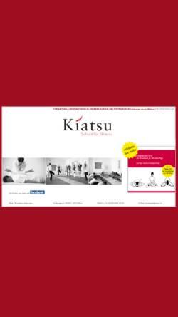 Vorschau der mobilen Webseite www.kiatsu.at, Kiatsu