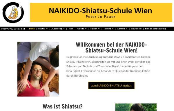 Vorschau von www.naikido.at, Naikido-Shiatsu Schule Wien