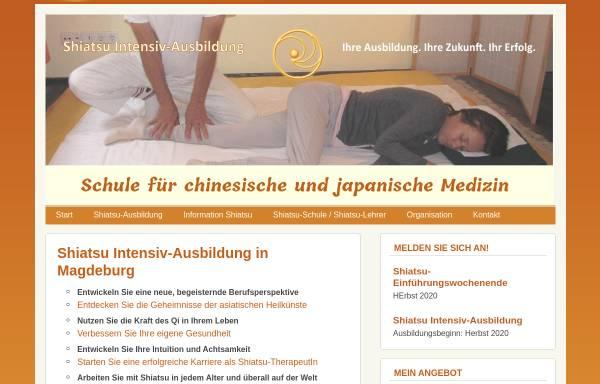Vorschau von www.ausbildung-shiatsu.de, Schule für chinesische und japanische Medizin