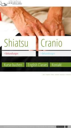 Vorschau der mobilen Webseite www.schule-fuer-shiatsu.de, Schule für Shiatsu Hamburg