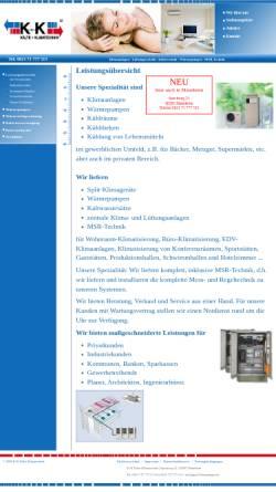 Vorschau der mobilen Webseite www.graf-klimaanlagen.de, K+K Kälte-Klimatechnik Christian Graf e.K.